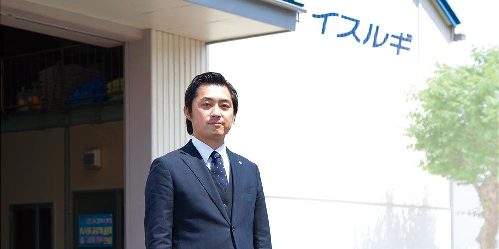 代表取締役社長 石動嘉信